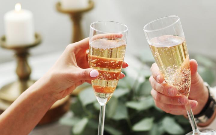 Festive Champagne Breakfast